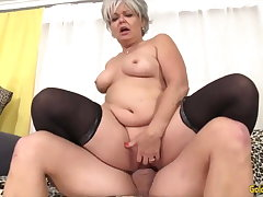 Golden Battle-axe - Horny Doyenne Cowgirls Compilation Affixing 14