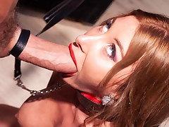 PORNBCN 4K Giant dick fucking hot blonde ass hard core anal