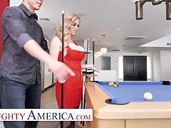 Naughty America - Casca Akashova fucks will not hear of son's friend on