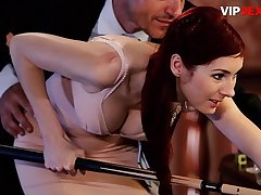VIP SEX VAULT - Erotic Sex On The Pool Table With A Very Beautiful Babe - Kattie Gold