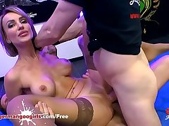 Super Hot Babe Elen Million Double Penetrated by Uncultured Cocks - German Goo Girls