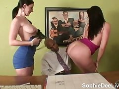 Sophie Dee and Gianna Michaels Pornstar Auditions