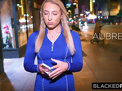 BLACKEDRAW Blonde GF is freaked broadly by BBC