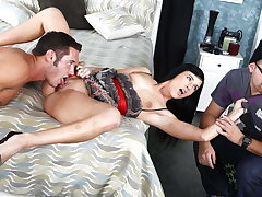 Cuckold Must Watch While Petite Girlfriend Fucks Stranger