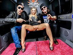BUMS BUS - Naughty German Teen Julia Parker Has Constant Sex In A Van