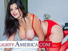 Naughty America - Gabriela Lopez gets pounded by big a dick