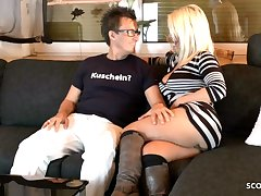 German Mature On At a distance Sex Date with Pornstar Conny Dachs