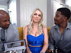 Big Ass, Kenzie Taylor Wants Anal With Big Black Cocks
