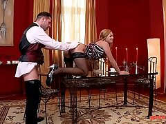 GoodRelease-Wild Milf Cathy Heaven takes hard Anal with squirting orgasm