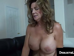 Chubby Dick Debt Collector Collects On Texas Cougar Deauxma!