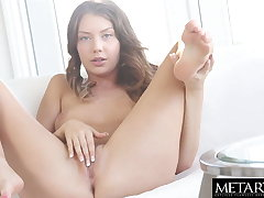 Hot unspecified with sexy company wants you to watch her masturbating