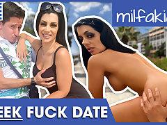 Rosa: Greek slut is an edacious cock lover! Milfakia.com