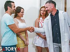 PURGATORYX Paunchy Clinic Vol 1 Part 1 with Lily & Skylar