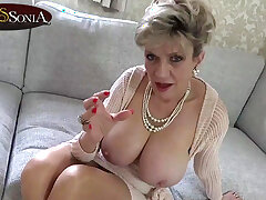 Stunning MILF Sonia wants with regard to watch you more favourably yourself