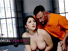 Valentina Nappi is esurient and has an orgasm in jail