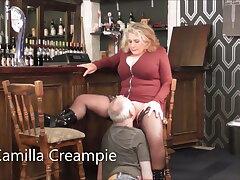 Camilla & Mr. Creampie in make an issue of Pub – Promo