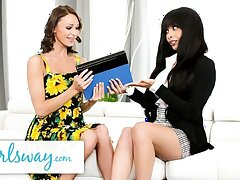 GIRLSWAY – Emma Hix Learns To Get Better Orgasms With Women