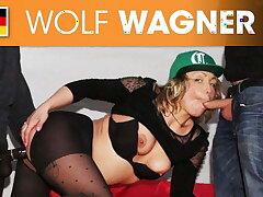 Eva Adams secretly banged in a mansion's garden! Wolfwagner.com