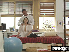 Valentina Nappi fucks the yoga teacher