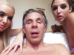 Anikka Albrite and Abella Danger - Behind the Scenes