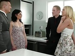Housewife Attempts Anal Swinging