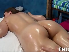 Hot and lascivious 18 year old slut gets a hard fuck from her massage therapist