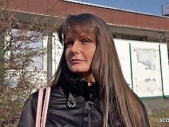GERMAN SCOUT - ANAL SEX fur Teen Victoria bei echten Casting