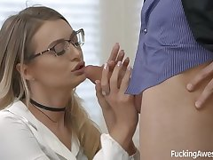 Fucking Awesome - Estate agent Natalia Starr wants to sell a house