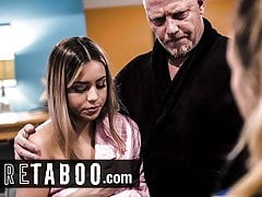 PURE TABOO Punished Teen Impregnated By Newcomer disabuse of