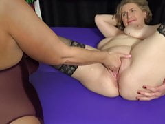 Matures Beau Diamonds and Camilla try homo intercourse and