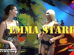American MILF Emma Starr first German bukkake