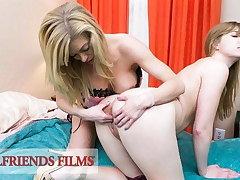 GirlfriendsFilms - Dolly Leigh Scissor Fucked By Busty MILF