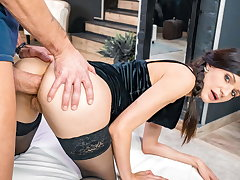 LETSDOEIT Sexy Arian Joy Gets Her Bore Destroyed By Big Cock